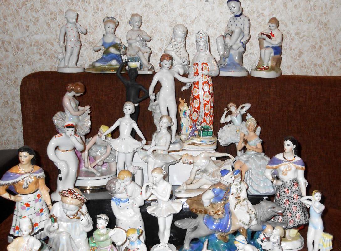 Как продать фарфоровые статуэтки советского периода? Скупка фарфоровых фигурок в Ростове