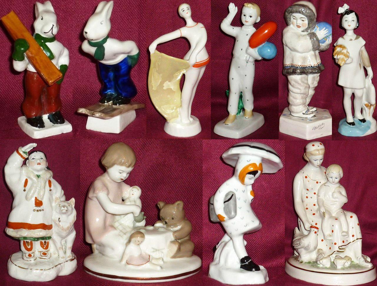 Как продать старинные фарфоровые, бронзовые, латунные, чугунные статуэтки?